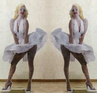 Работы  Andrea Tirinnanzi - Marilyn Monroe ???????? ?????????? ??????? стол